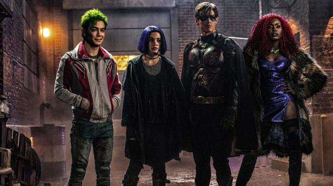 Titans saison 3 : premier jour de tournage et déjà le premier aperçu