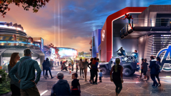 Disneyland dévoile ses futures attractions Marvel