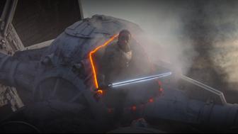 The Mandalorian : tout sur le sabre laser noir de Moff Gideon