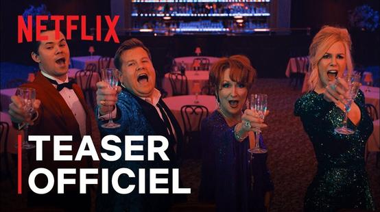 The Prom : un trailer bondissant pour la comédie musicale Netflix avec Nicole Kidman et Meryl Streep