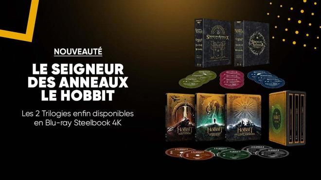 Le Seigneur des anneaux et Le Hobbit en Blu-ray 4K disponibles à la Fnac
