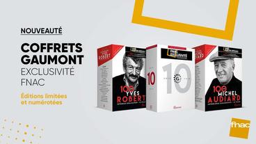 Le volume 5 du Coffret Gaumont 120 ans en Édition limitée DVD à la Fnac