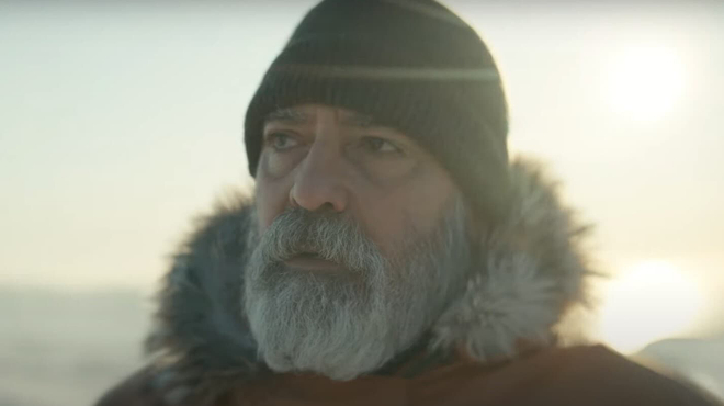 Minuit dans l'univers (Netflix) : George Clooney a été hospitalisé à cause de son changement physique