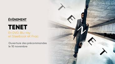 Tenet : le film de Christopher Nolan disponible en Steelbook Édition Spéciale Fnac