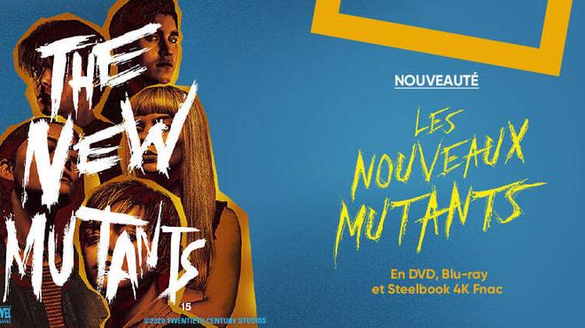 Les Nouveaux Mutants disponible en Steelbook Édition Spéciale Blu-ray 4K Ultra HD à la Fnac