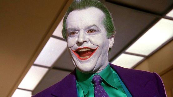 Batman : la somme astronomique gagnée par Jack Nicholson pour son rôle de Joker