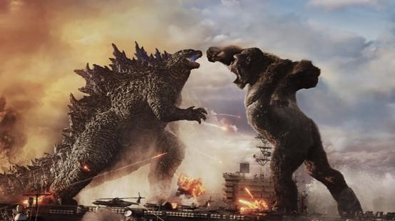 Godzilla vs Kong : Godzilla saccage l'océan dans de nouvelles images