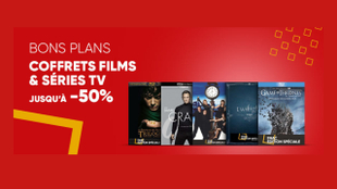 James Bond, Lucifer, The Dark Knight... : un choix de coffrets DVD et Blu-ray à la Fnac à - 50%