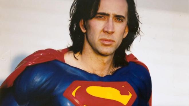 Superman Lives : cette bande-annonce imagine Nicolas Cage dans le rôle du super-héros