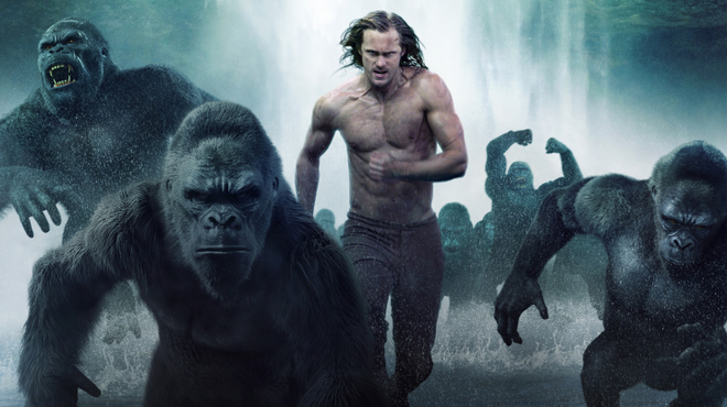 Tarzan : la frayeur d'Alexander Skarsgård pendant sa préparation physique intense