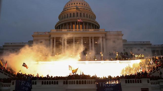 L'assaut du Capitole des Etats-Unis va inspirer une série