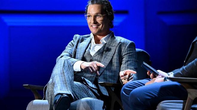 Matthew McConaughey vous attend sur sa chaîne YouTube
