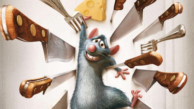 Ratatouille : avez-vous repéré ce personnage de Là-Haut dans le film ?