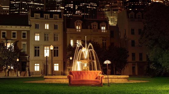 Friends : le canapé orange est de retour sur le tournage de l'épisode spécial