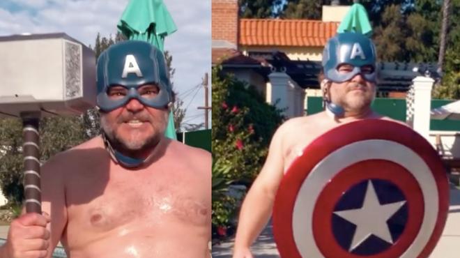 Jack Black parodie (encore) les Avengers dans une nouvelle vidéo hilarante