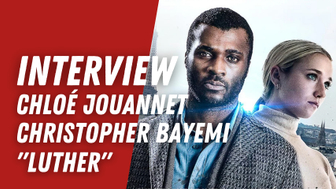 Chloé Jouannet et Christopher Bayemi (Luther) :