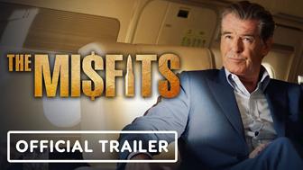 The Misfits : Pierce Brosnan se dévoile en cambrioleur dans la première bande-annonce