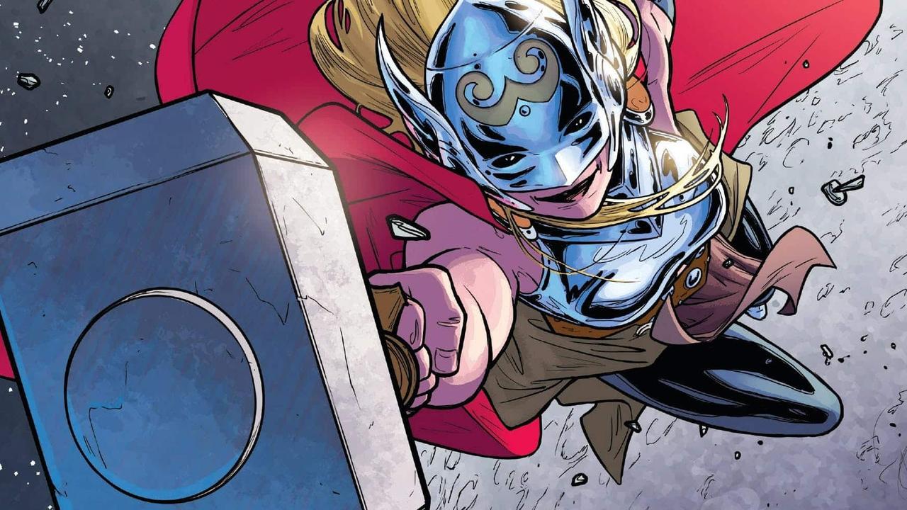 Thor Love and Thunder : un photo de Jane Foster dans l'armure de She-Thor a fuité #5
