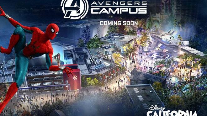 Disneyland : premier aperçu impressionnant du Spider-Man volant du land Marvel