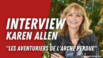 Karen Allen (Les Aventuriers de l'arche perdue) :