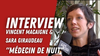 Sara Giraudeau et Vincent Macaigne  :