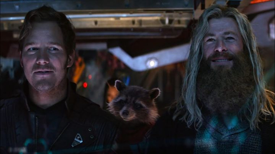 Thor 4 : Chris Hemsworth partage un cliché avec Chris Pratt