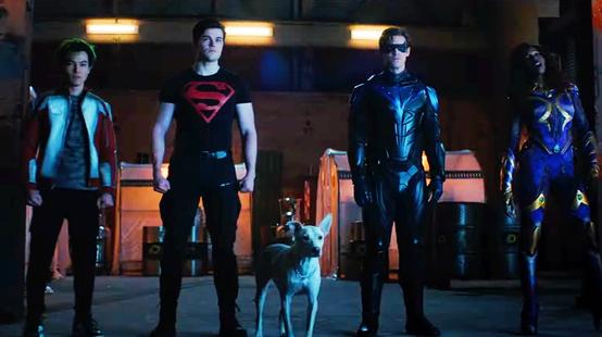 Titans : le Joker, Red Hood et Batman dans le teaser de la saison 3