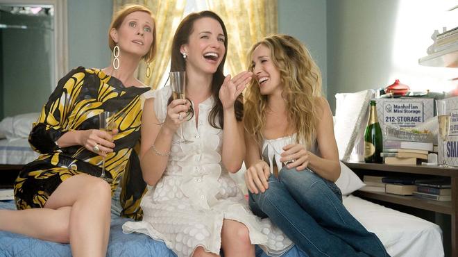 Sex and the City : Carrie, Miranda et Charlotte réunies dans la première photo du revival