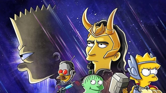 Disney + : la plateforme diffusera un crossover entre Les Simpson et Loki