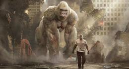 Rampage sur Netflix : découvrez qui se cache derrière le gorille George