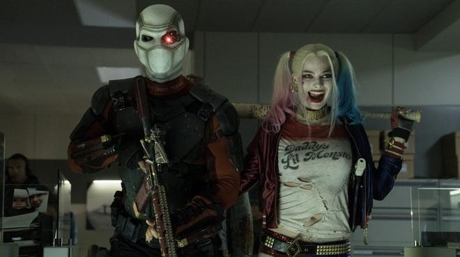 Suicide Squad : une image inédite dévoile un baiser entre Deadshot et Harley Quinn