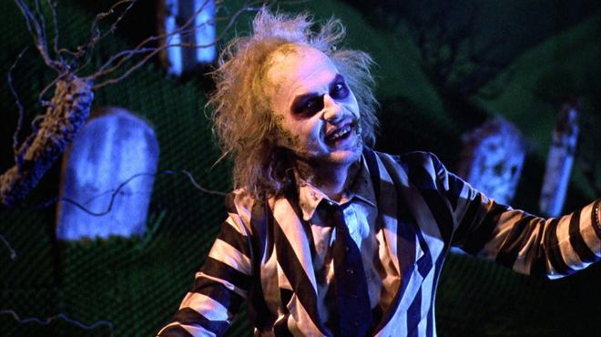 Beetlejuice : comment Michael Keaton a créé son propre costume
