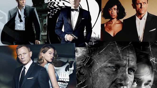 James Bond : voici le classement des films avec Daniel Craig